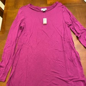 🆕 Old Navy long length tunic purple X-Small